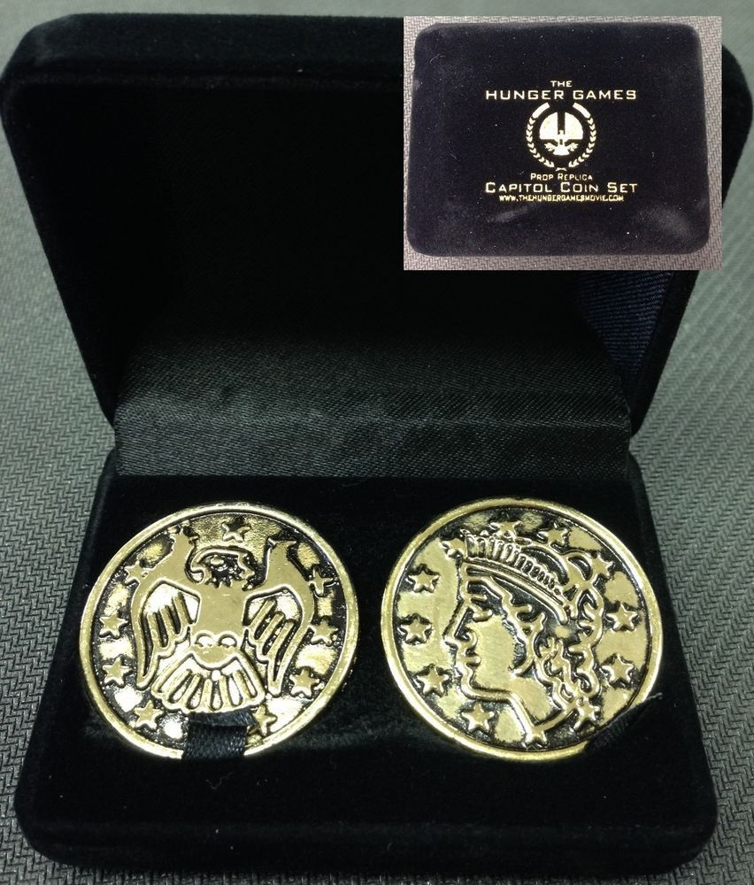 HUNGER GAMES CAPITAL COINS / MONEY Movie PROP Replicas 2