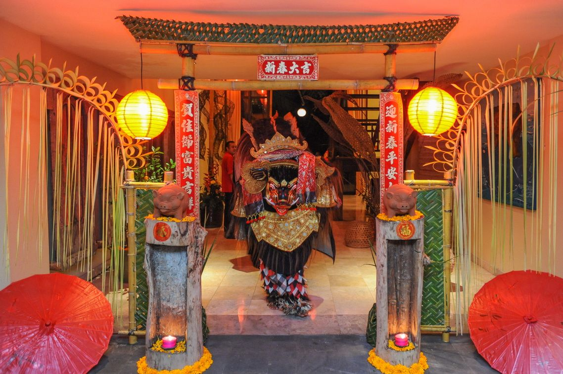 Chinese New Year S Eve Dinner In 2020 Ubud Hotels Ubud Small Hotel