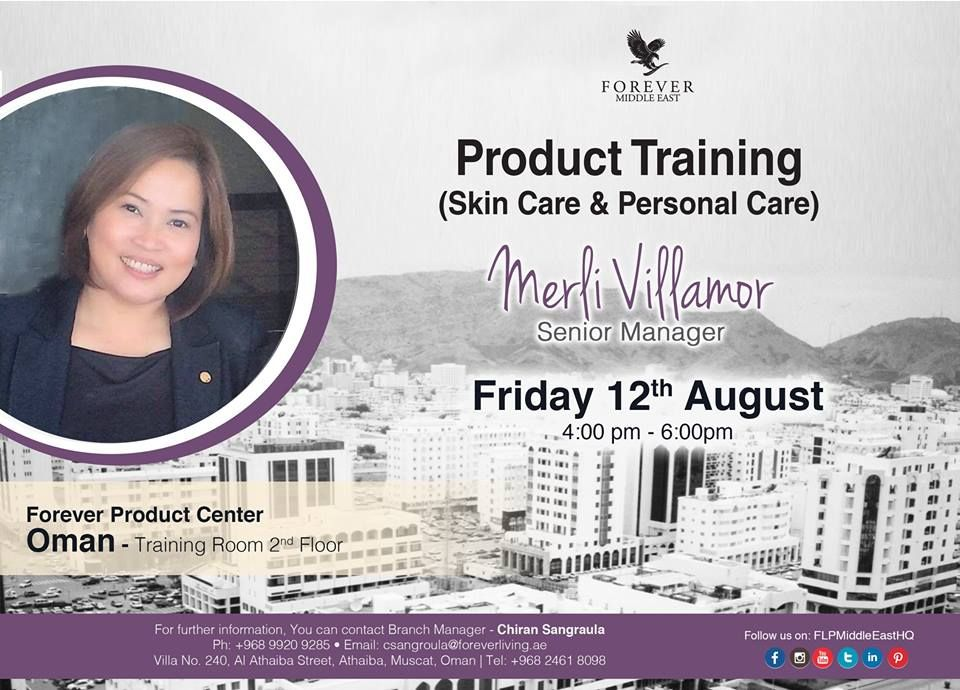 Product Training u00 (Skin Care & Personal Care) by Merli
