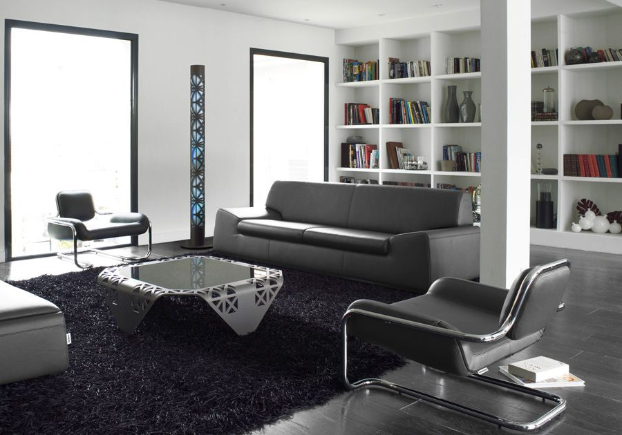 ديكور غرف اجمل ديكورات الصالون باللون الرمادي Eames Lounge Chair Eames Lounge Beautiful Decor