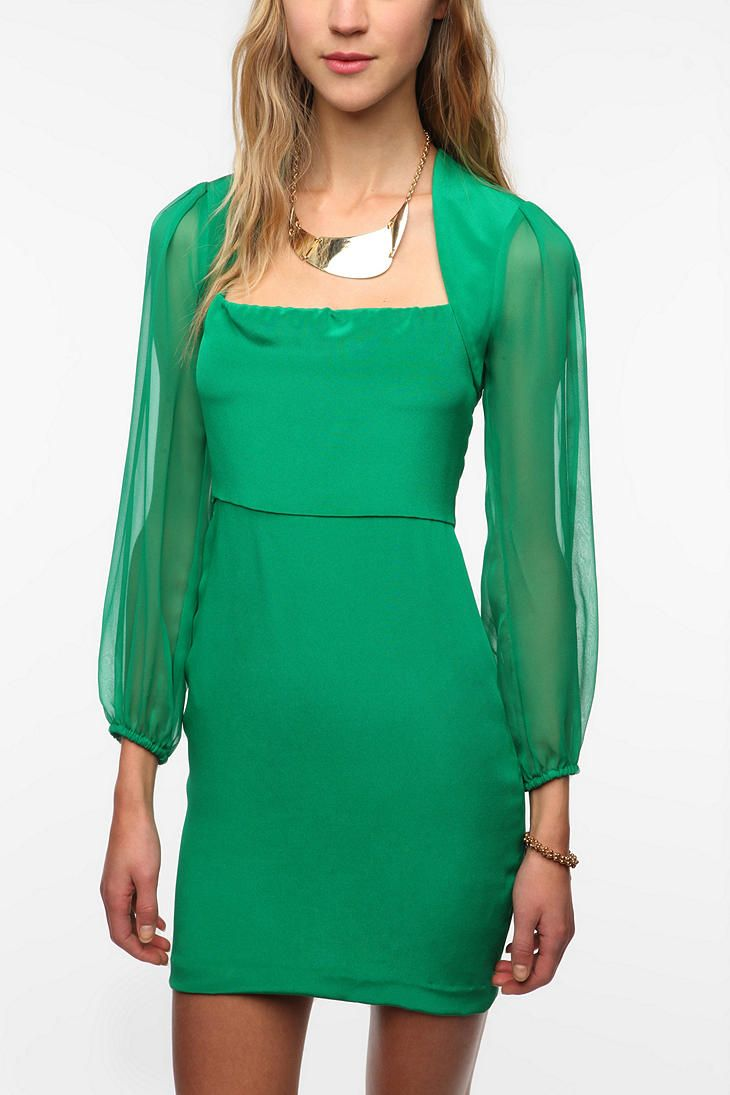 Naven Long-Sleeved Betty Dress | Clothes ❤ | Pinterest | Clothes ...