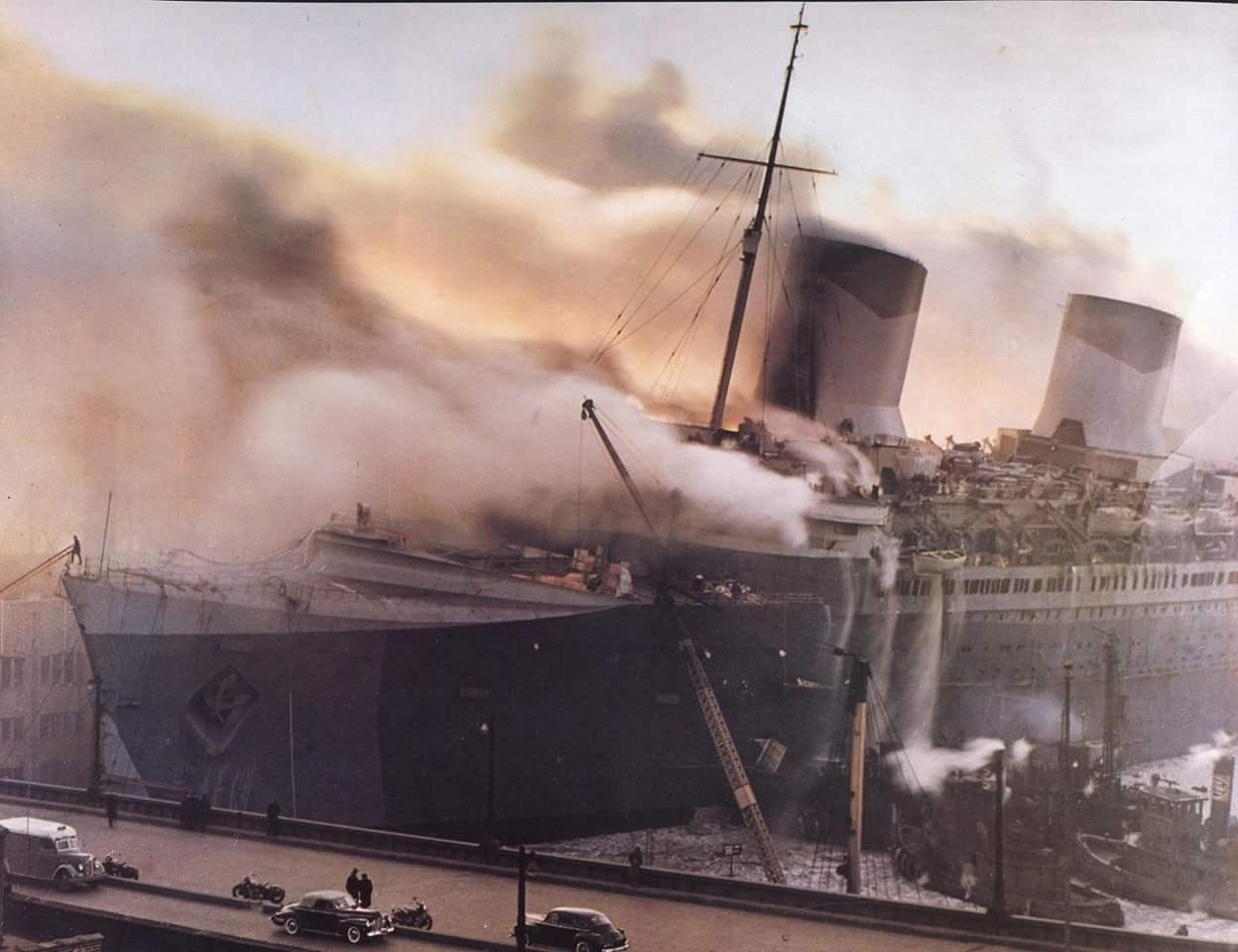 Pin on SS Normandie, Compagnie Générale Transatlantique