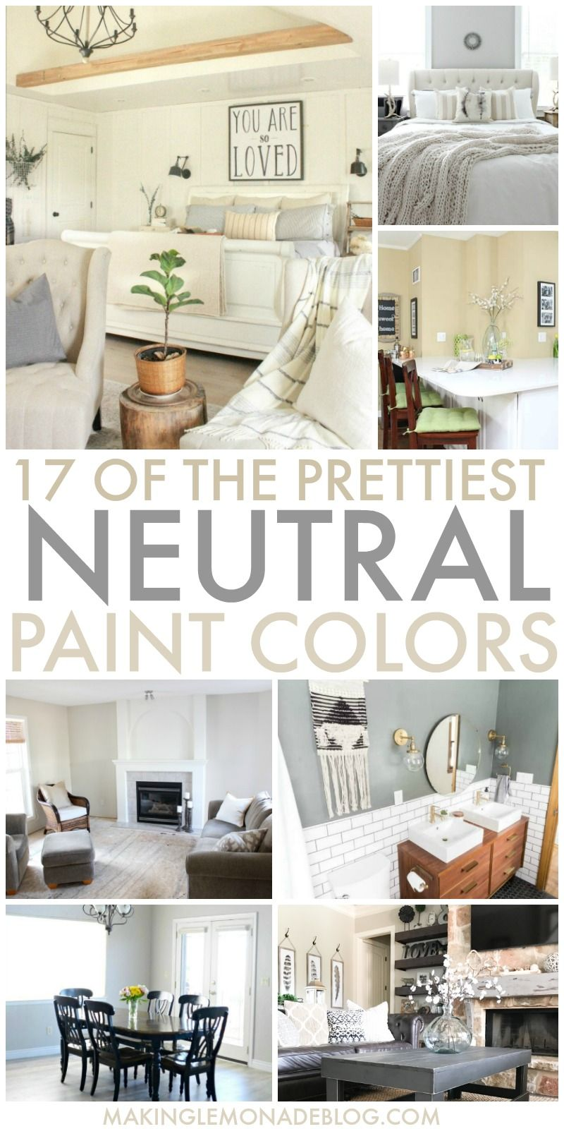 Best 17 Of The Prettiest Neutral Paint Colors Living Room 400 x 300