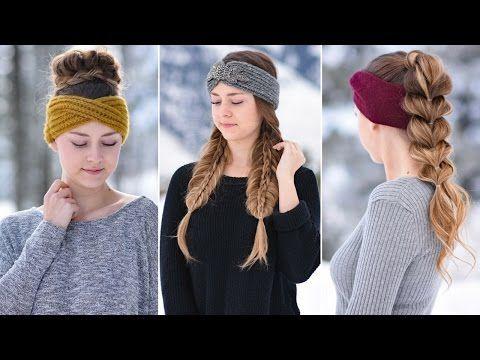 Cute Girls Hairstyles Youtube 3 Easy Headband Hairstyles  Cute Girls Hairstyles  Youtube  For