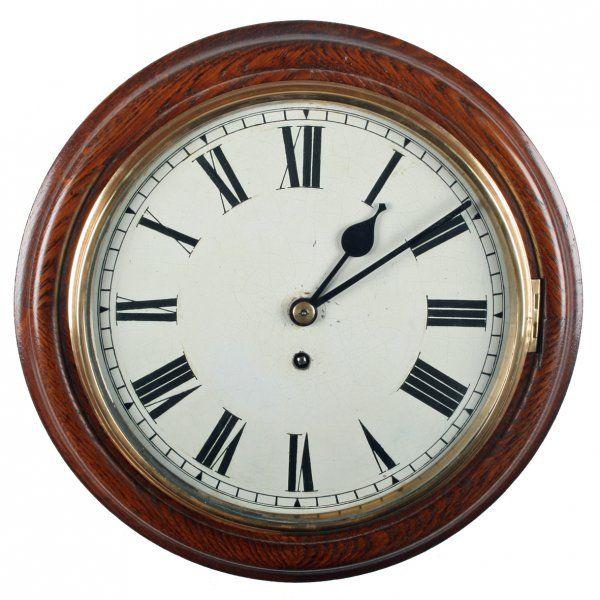 Victorian Oak Fusee Wall Clock In 2019 Marilyn S Own