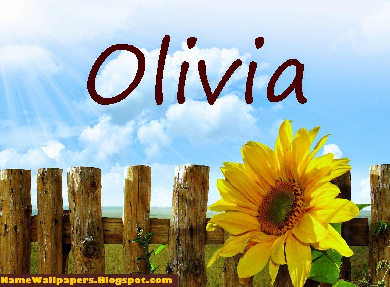 the name olivia wallpaper | Olivia Name Wallpapers Olivia ...