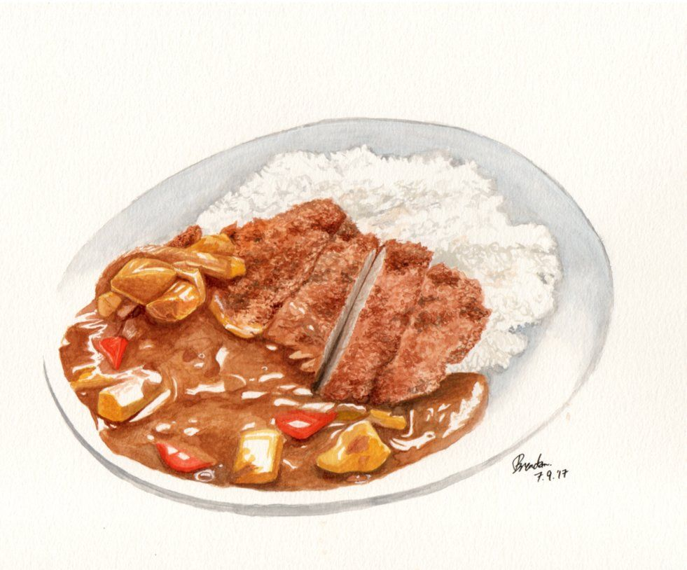 Japanese curry rice by BrendanPark on DeviantArt