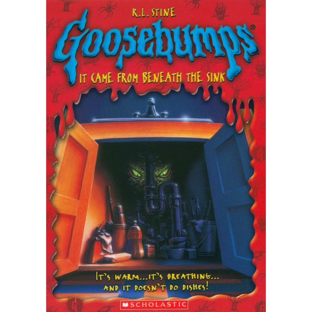 Goosebumps It Came From Beneath The Sink Dvd Products