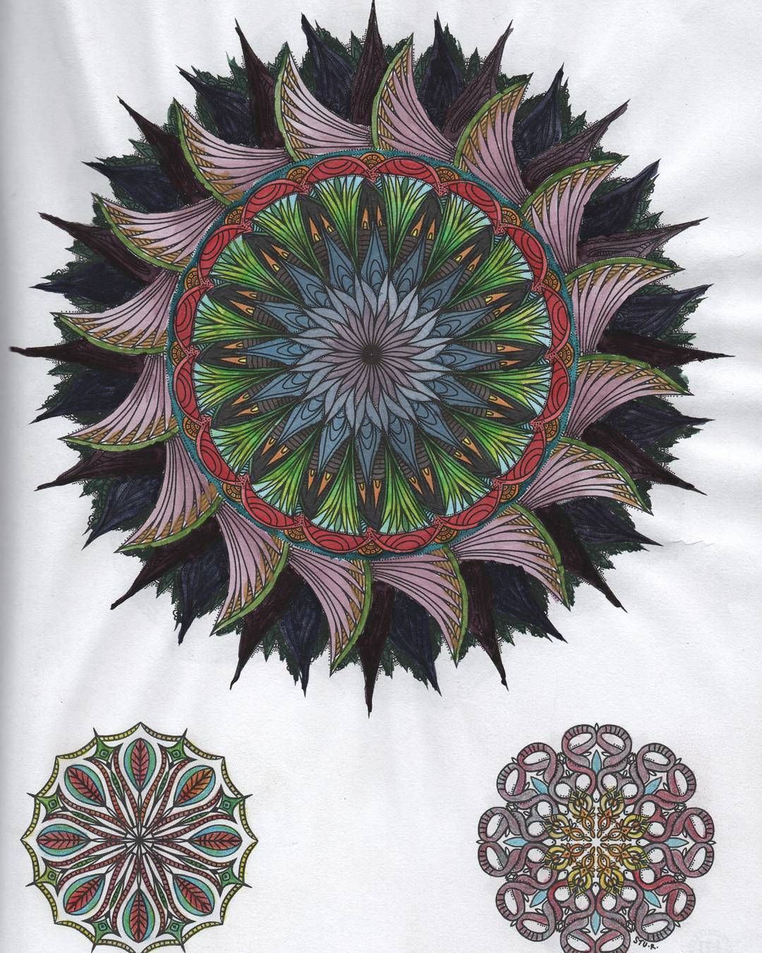 This is page 17, mandala 14 from