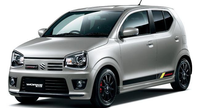 Suzuki Previews Alto Works Hot Hatch Transport