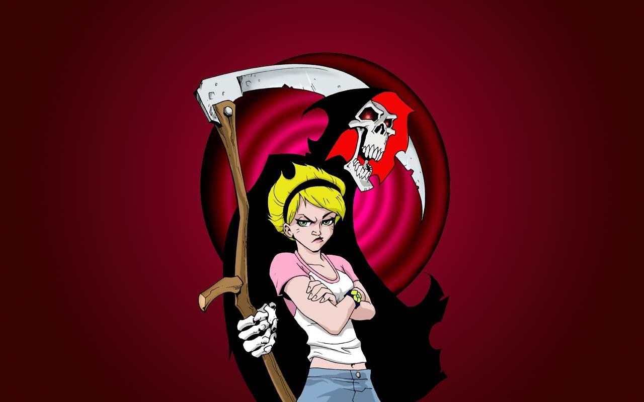 Grim Adventures Of Billy And Mandy Cartoon Wallpaper The Grim