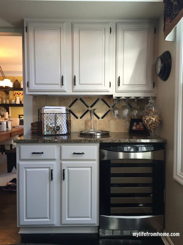 Diy How I Painted My Kitchen Cabinets Painting Kitchen Cabinets Kitchen Cabinet Remodel Diy Kitchen Cabinets Painting