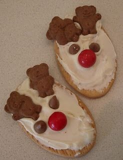 Christmas Reindeer Tiny Teddy Cookies X Mas Tiny Teddies