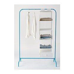 MULIG Klesstativ - blå - IKEA