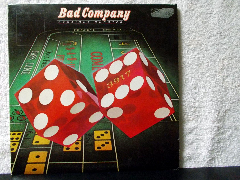Bad Company Straight Shooter 1975 Vinyl Lp 33 Record Album