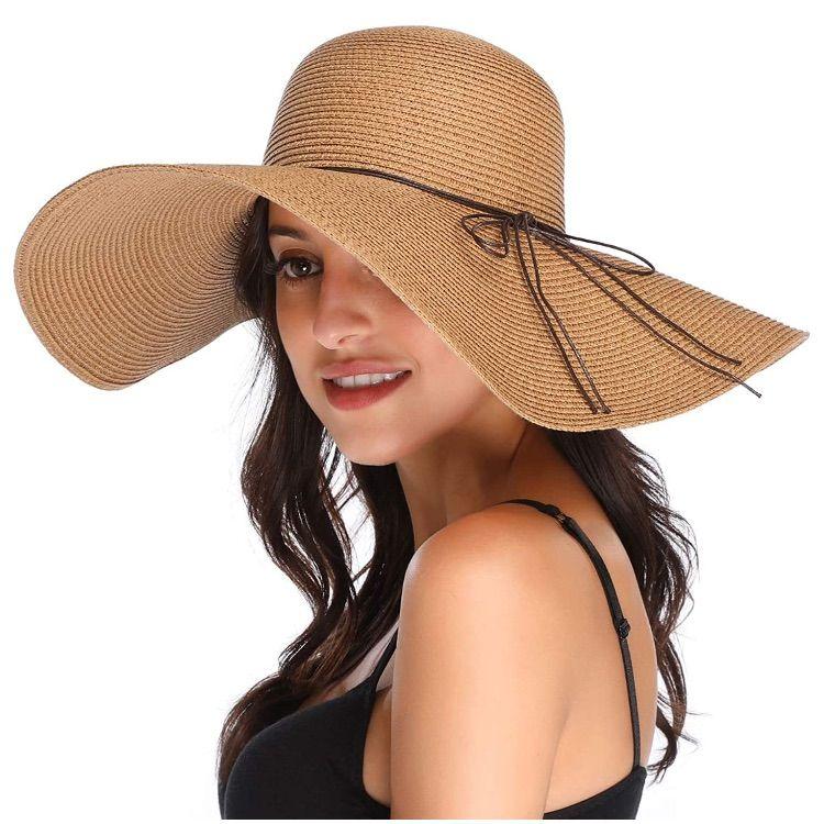 Men S Bondi Straw Beach Hat Upf 50 Straw Hat Beach Mens Straw Hats Beach Hat