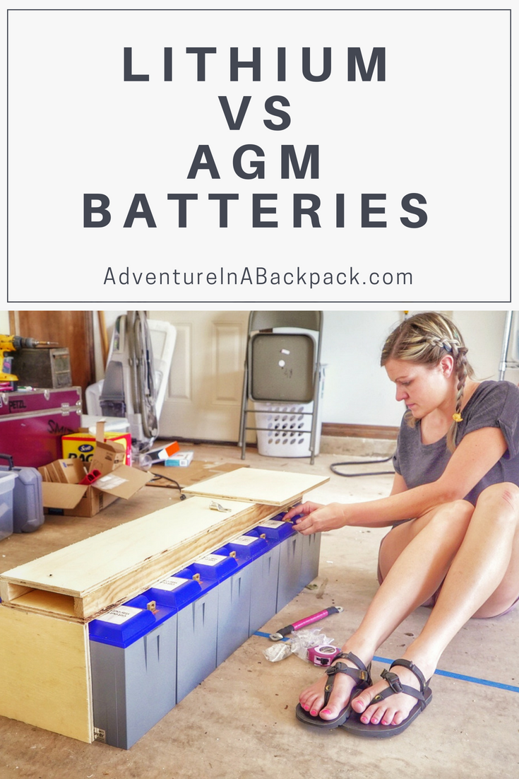 Choosing A Solar Battery Bank For A Diy Camper Van Conversion Solar Battery Bank Solar Battery Solar Charger
