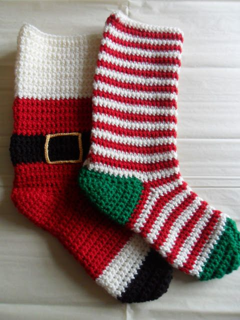 ♥ Emma Bear Forever ♥ crochet stockings | Crochet Christmas ...