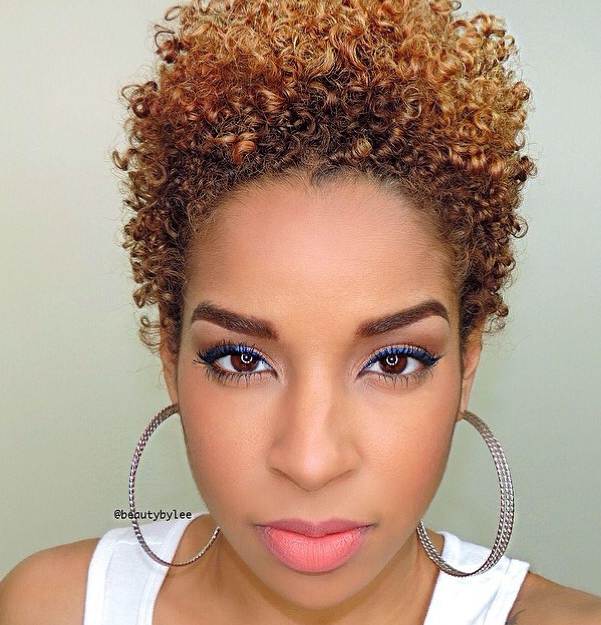 Pin By Caretha German On Natural Hair Inspiration Curly Hair Styles Naturally Short Natural Hair Styles Curly Hair Styles