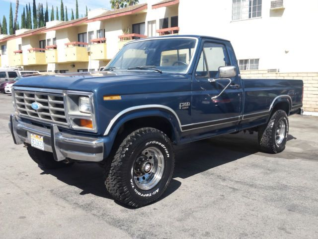 1986 Ford F250 Xlt Lariat 4x4 460 V8 A C A T P W P D P S P B Cruise Control Ford Trucks Ford F250 Ford