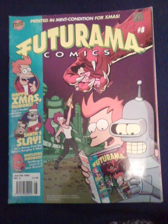 Futurama comic cover
