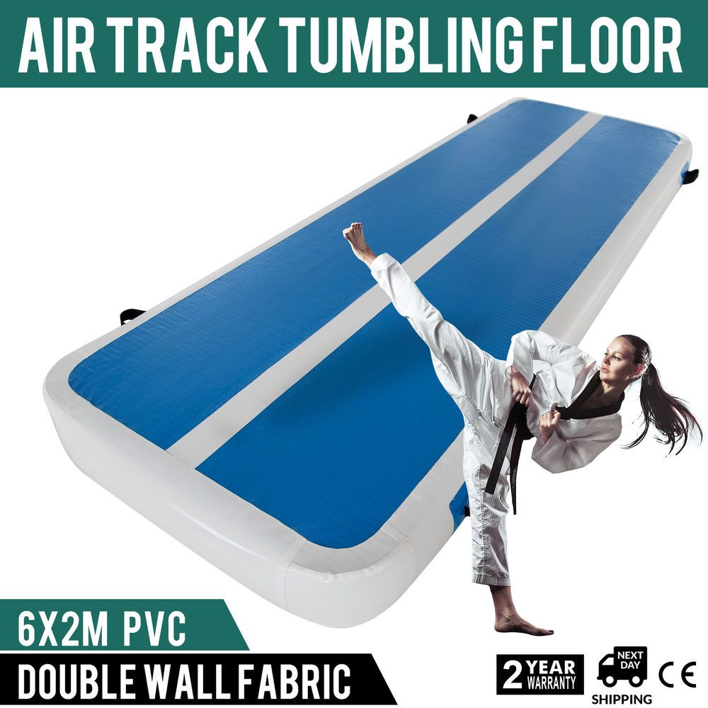 Inflatable 20x6Ft Air Track Floor Home Gymnastics Tumbling