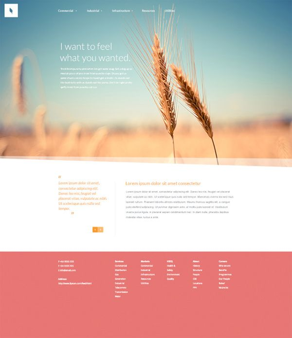 Website Templates Free 20 Free Highquality Psd Website Templates  Template And Web
