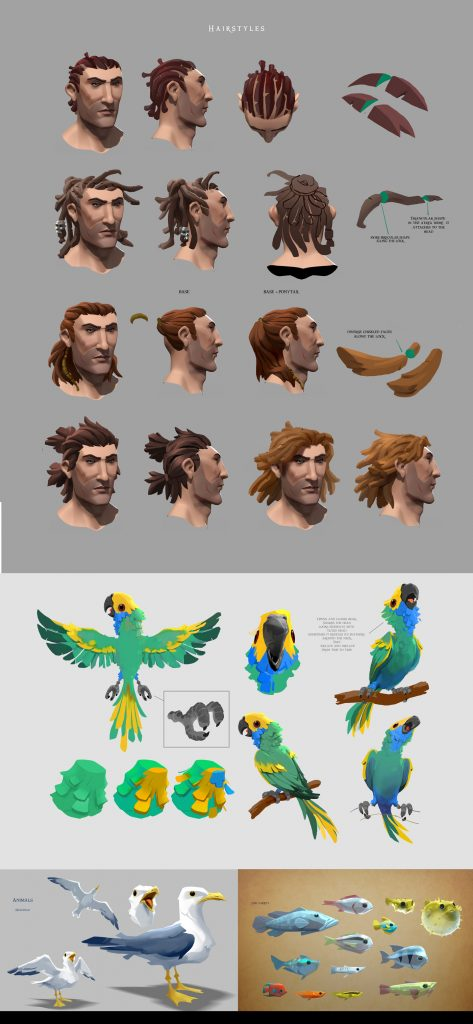 Sea Of Thieves 100 Concept Art Collection Sea Of Thieves Art Concept Art Characters