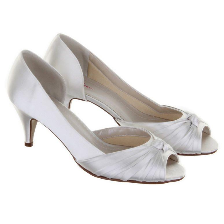 Rainbow Club Cheryl 62 00 Crystal Bridal Accessories Dyeable Wedding Shoes Peep Toe Wedding Shoes Peep Toe Shoes