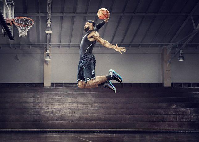 Nike Freestyle De Basket-ball A Battu Mac