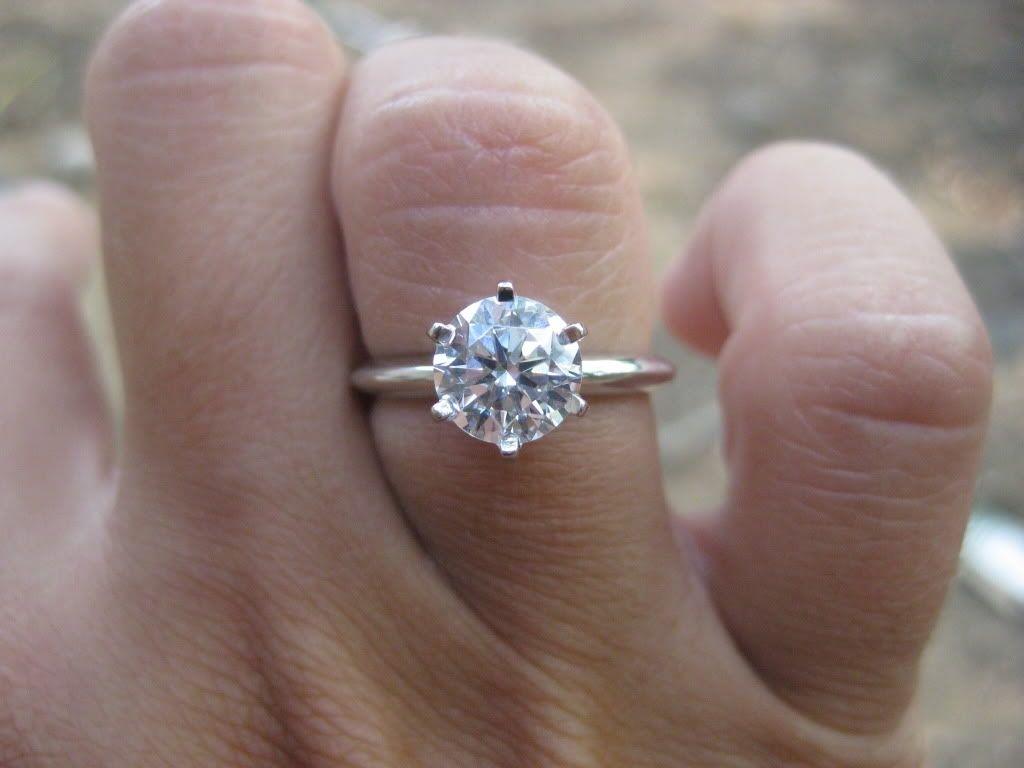 6592152bd 1.5 Carat Diamond Ring On Hand | Ring | Engagement rings, 5 carat ...