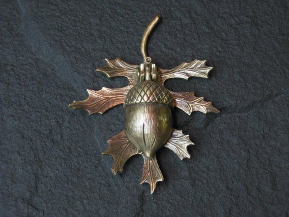 Bronze Oak leaf and Acorn Doorknocker by modelmaker2 on Etsy $70.00 : acorn doors - Pezcame.Com