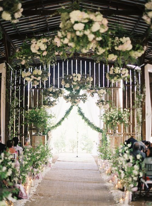 Wedding Inside An Old Barn Vessels Ranch Bonsall California Via Found