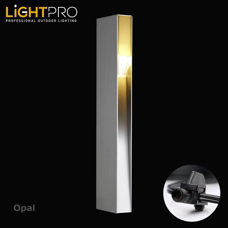 Lightpro 12v Opal 3w Ip44 Outdoor Garden Post Light Garden Post Lights Outdoor Post Lights Outdoor Lighting