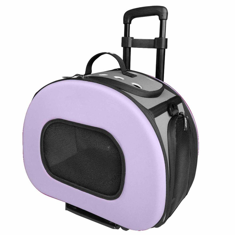 Pet Life Tough Shell Wheeled Collapsible Final Destination Pet Carrier B51plmd The Home Depot In 2020 Pet Carriers Dog Carrier Puppy Accessories