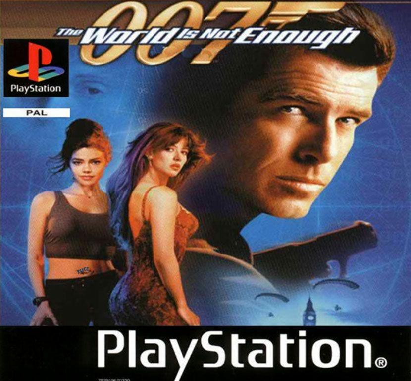 007 The World Is Not Enough Pal Ingles Psx Descarga Juegos