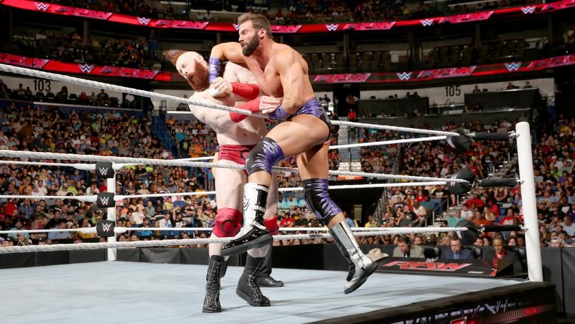 Raw 6/13/16: Zack Ryder vs. Sheamus