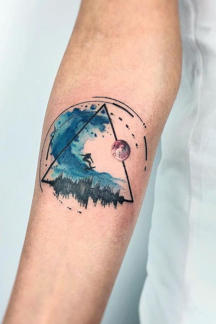 ▷ 1001 + ideas for a beautiful watercolor tattoo you can steal