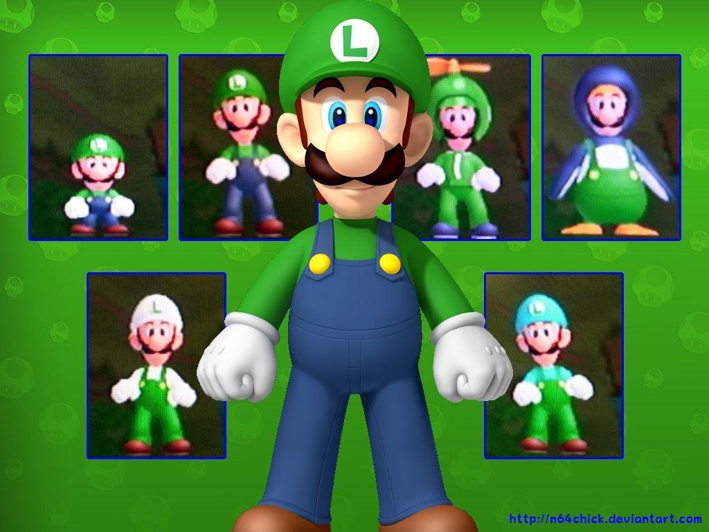 Luigi In New Super Mario Bros Wii Luigi Wallpaper 32209851
