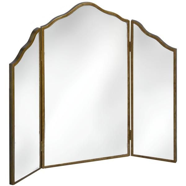 Vienne Glamorous Art Deco Style 3 Way Dressing Table Mirror | Free Delivery