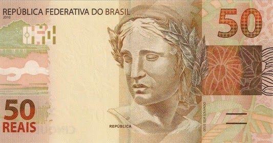 Mata Brazil Brl 50 Reais Bank