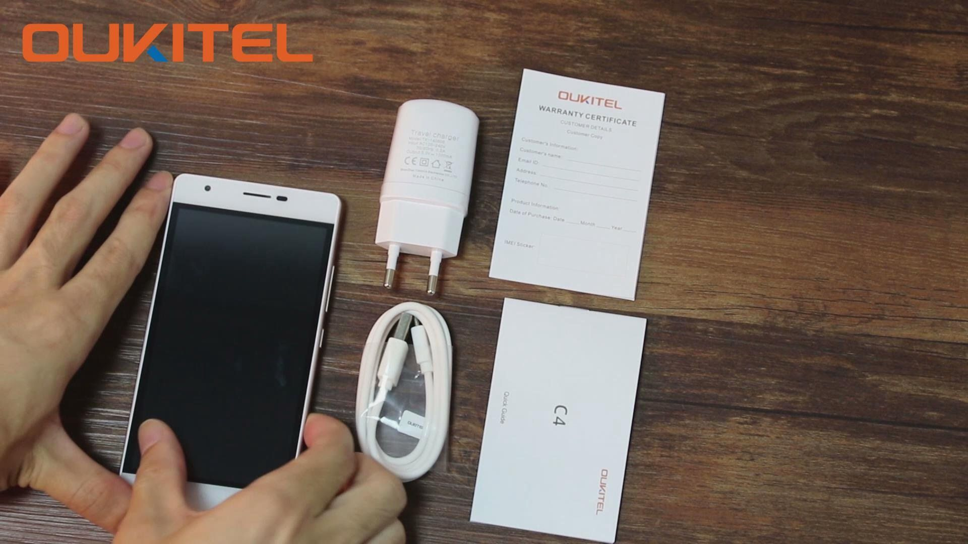 OUKITEL C4 unboxing & hands on video