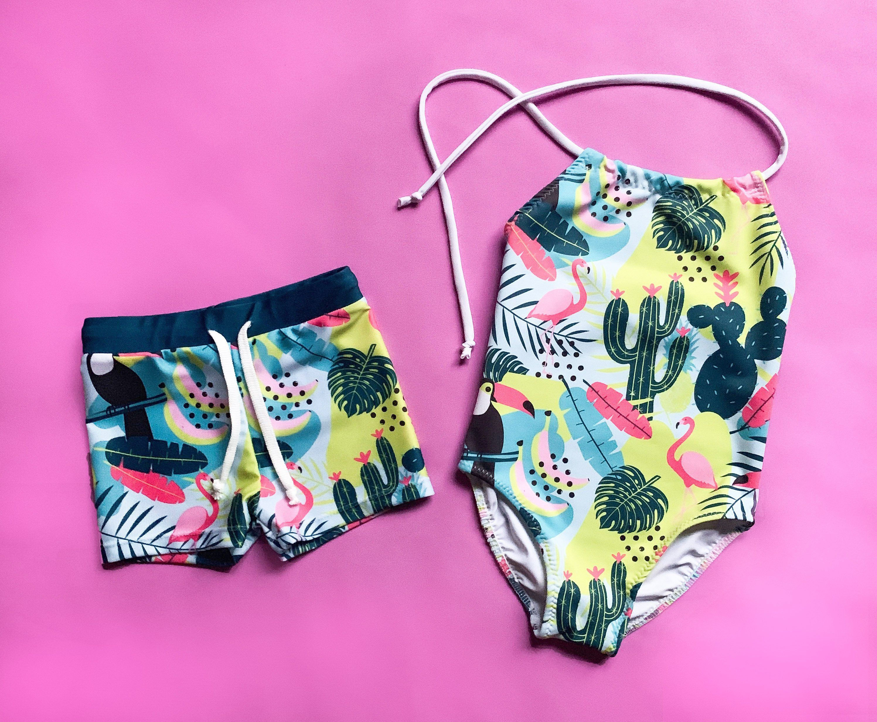 e5aa0f968f34b Excited to share this item from my #etsy shop: Brother and Sister matching  swimsuits, boy and girl matching swimwear, siblings matching swimsuits, ...