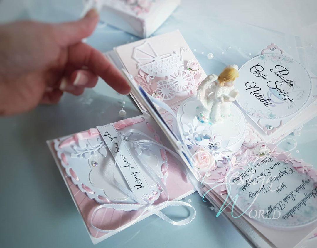 Uzytkownik Dla Dzieci Kartki Na Komunie Udostepnil Zdjecie Na Instagramie Wiem Ze Lubisz Otaczac Troska I U In 2020 Gifts For Kids Baby Gifts Paper Crafts For Kids