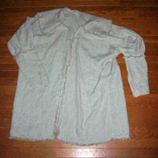 Rendezvous Clothing * 18th Century Pullover Linen Hunting Shirt