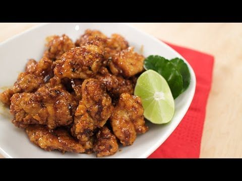Hot thai chicken fried chicken in sweet chili lime sauce asian cooking hot thai chicken fried chicken in sweet chili lime sauce youtube forumfinder
