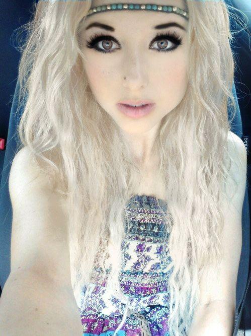 tumblr girls with blue hair prettygirlswithbrownhair