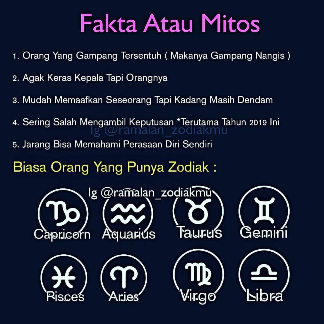Fakta Atau Mitos Zodiakmu Zodiakmu Termasuk Aktifkan