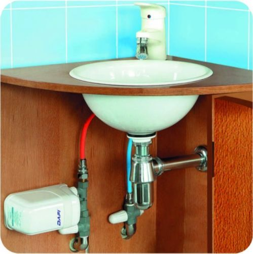 Small Electric Instantaneous Dafi Water Heater 4 5 Kw 240v Tankless Sink