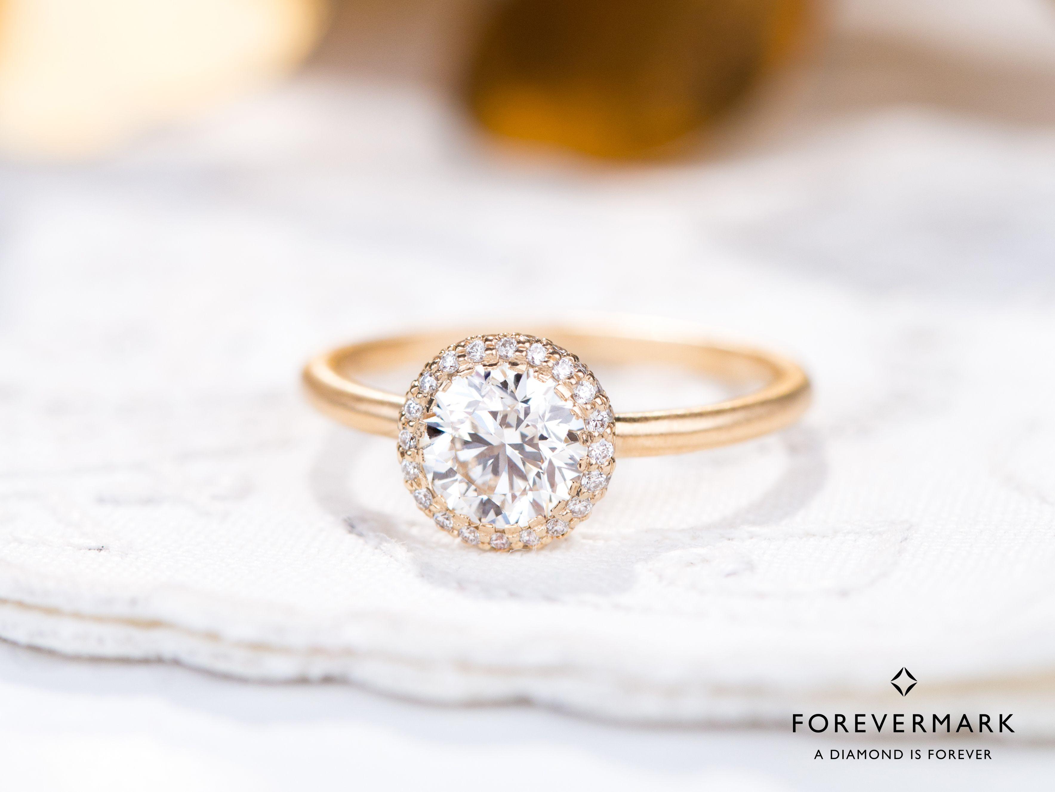 Forevermark Diamond Yellow Gold Engagement Ring In 2020 Forevermark Engagement Ring Yellow Gold Diamond Engagement Ring Yellow Gold Engagement Rings